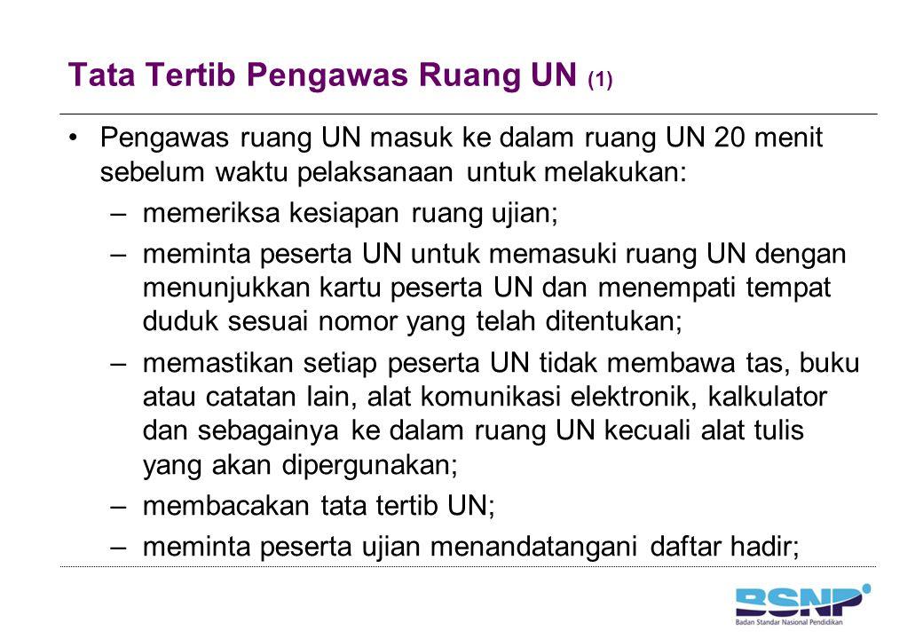 Tata Tertib Pengawas Ruang UN (2)