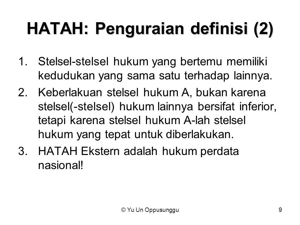 HATAH: Penguraian definisi (2)