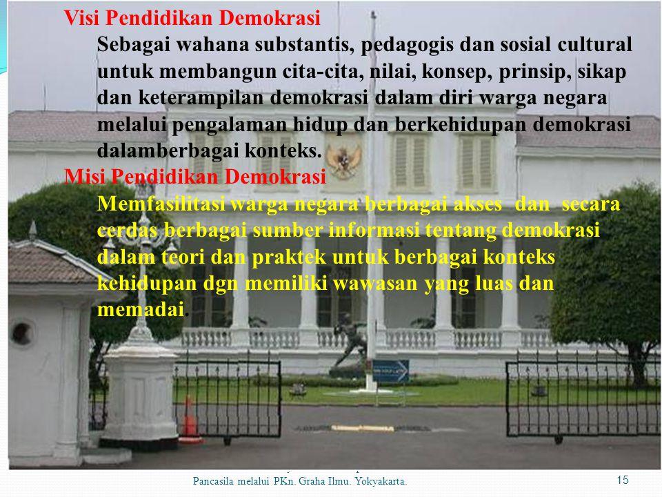 Visi Pendidikan Demokrasi