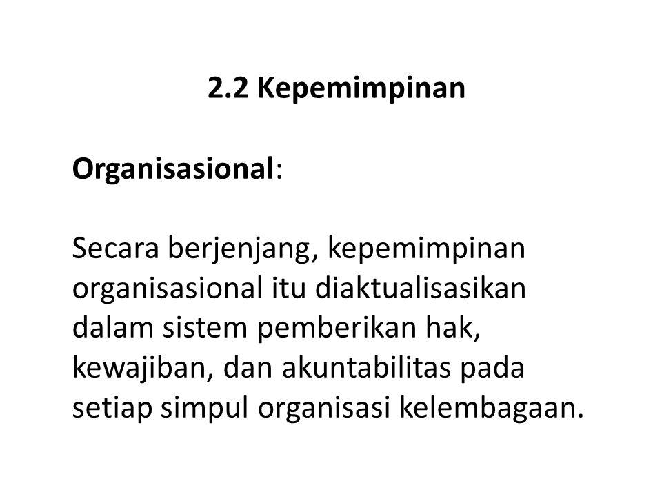 2.2 Kepemimpinan