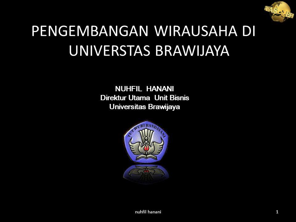 Direktur Utama Unit Bisnis Universitas Brawijaya