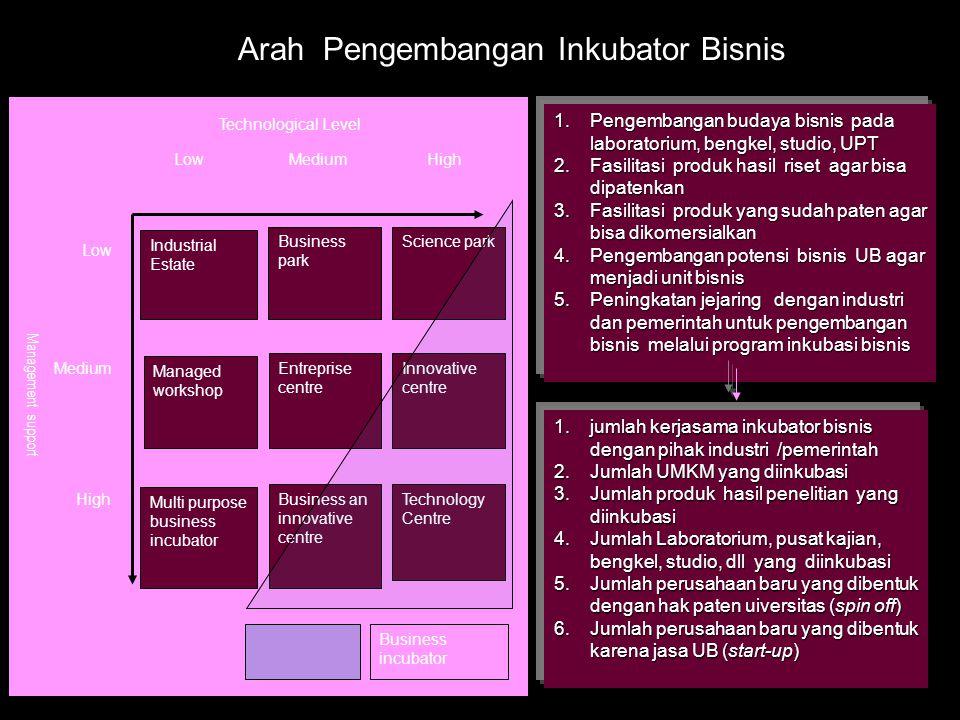 Arah Pengembangan Inkubator Bisnis