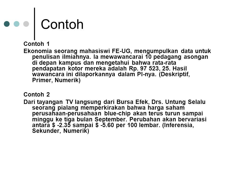 Contoh Contoh 1.