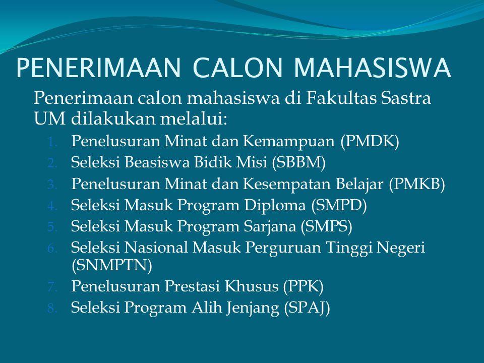 PENERIMAAN CALON MAHASISWA