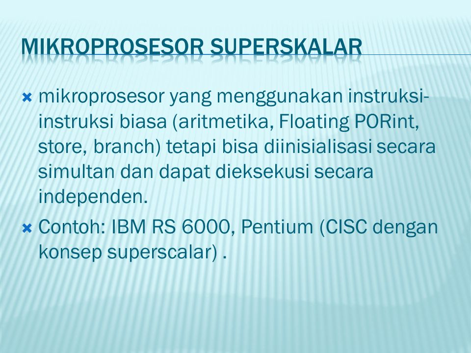 Mikroprosesor SupersKAlar