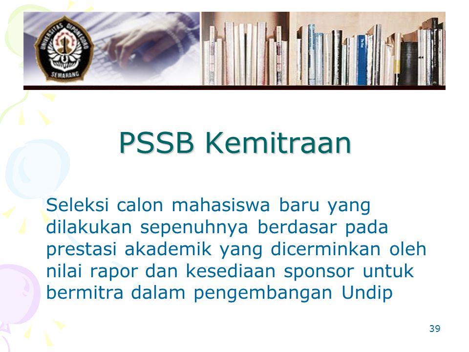 PSSB Kemitraan