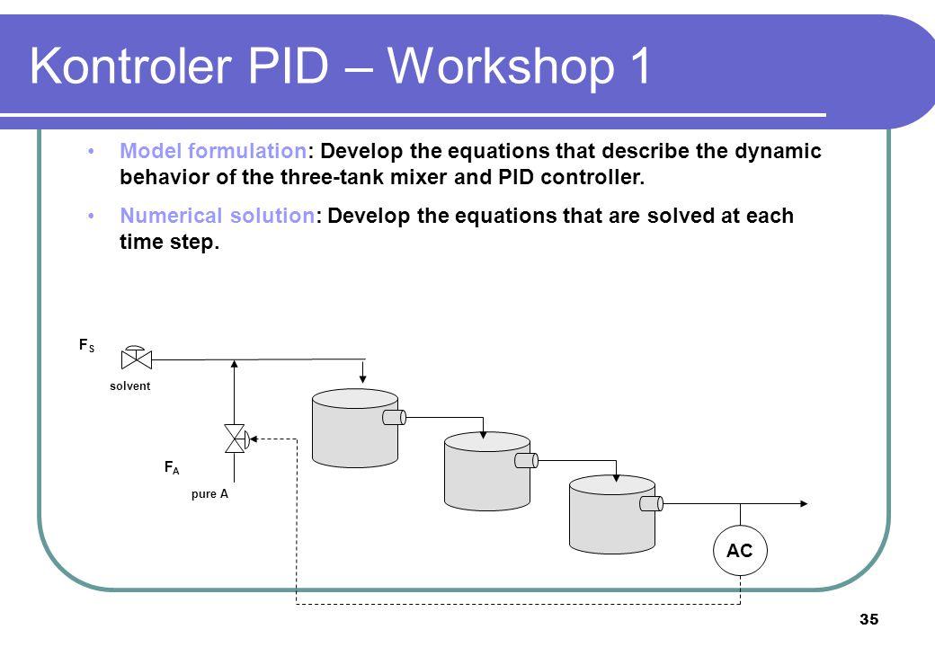 Kontroler PID – Workshop 1