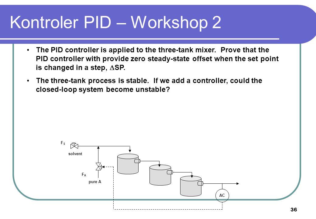 Kontroler PID – Workshop 2
