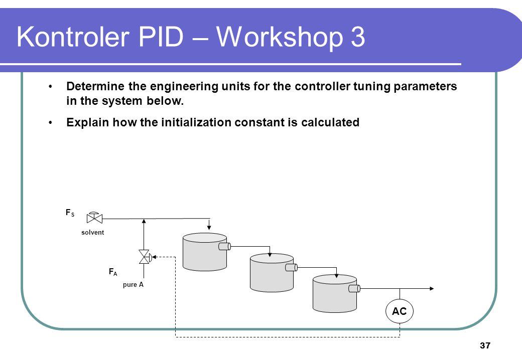 Kontroler PID – Workshop 3