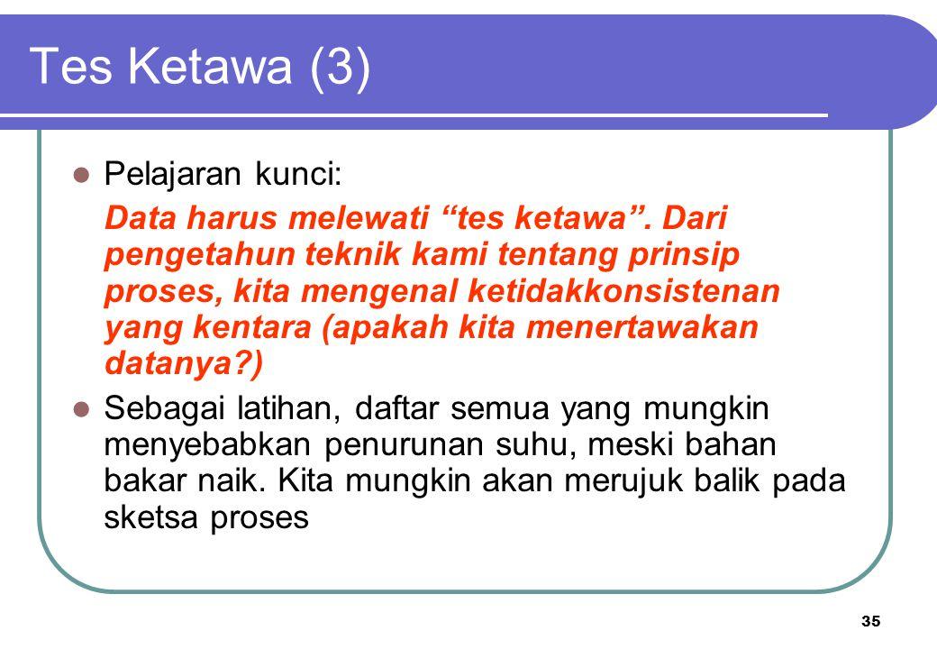 Tes Ketawa (3) Pelajaran kunci: