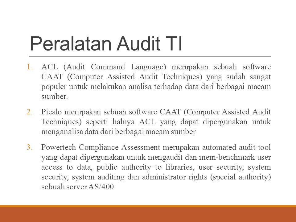 Peralatan Audit TI