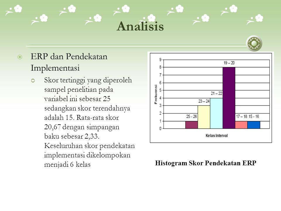 Analisis ERP dan Pendekatan Implementasi