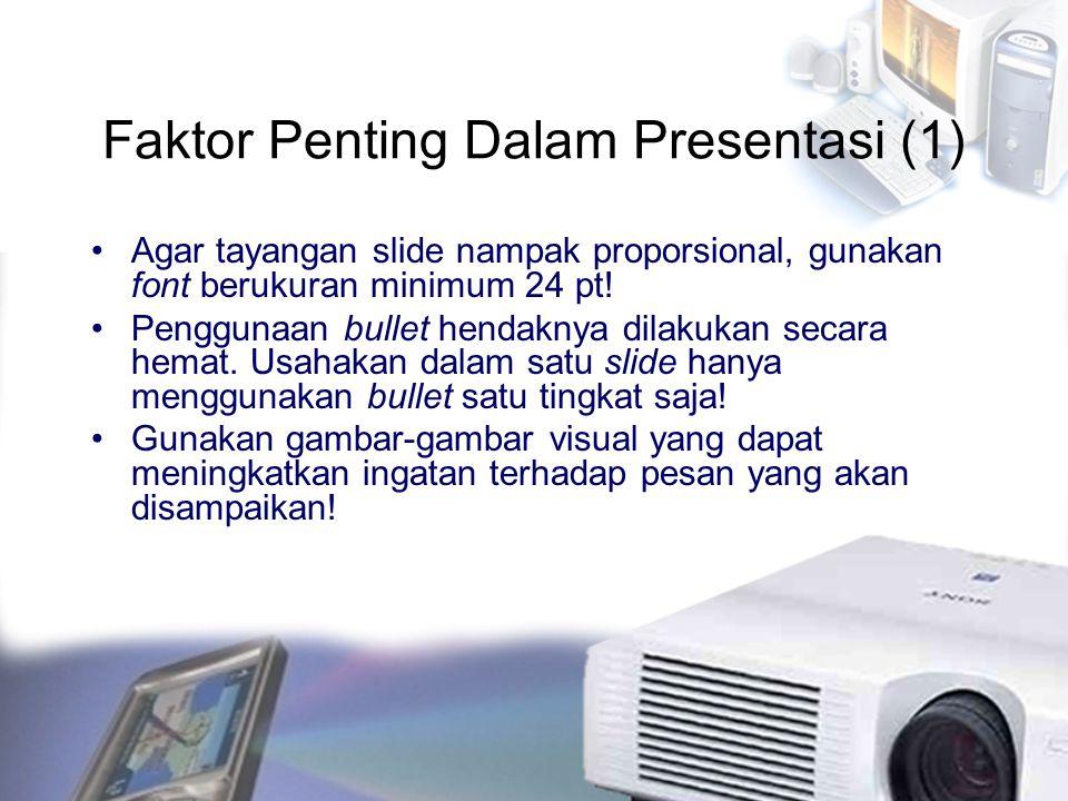 Faktor Penting Dalam Presentasi (1)