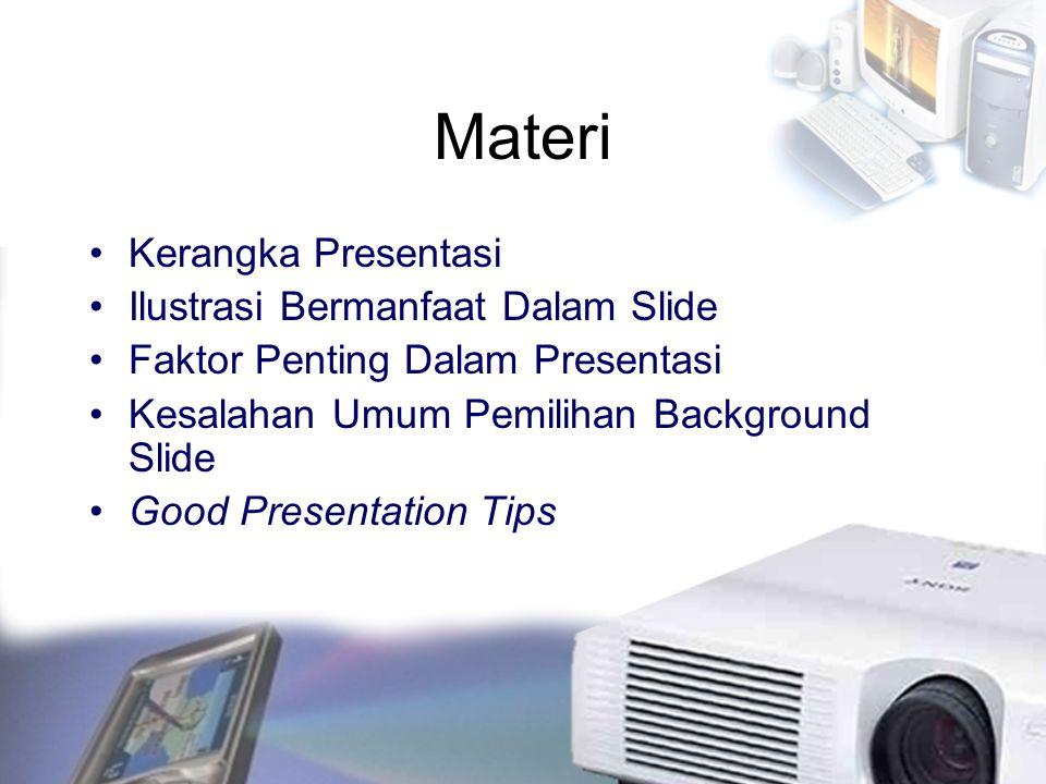 Materi Kerangka Presentasi Ilustrasi Bermanfaat Dalam Slide