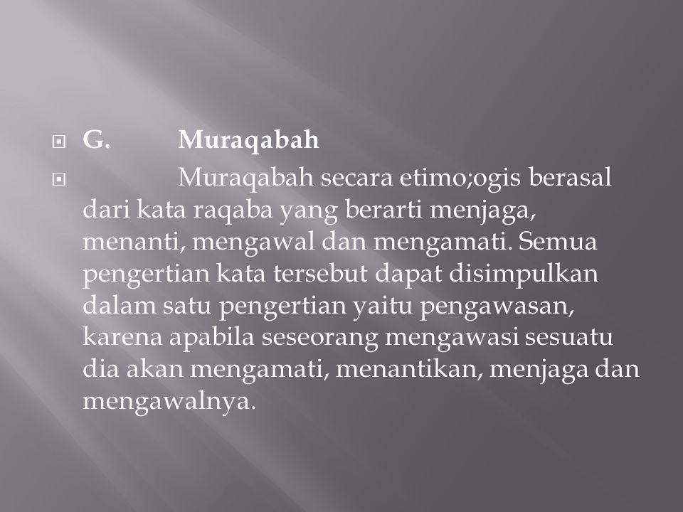G. Muraqabah