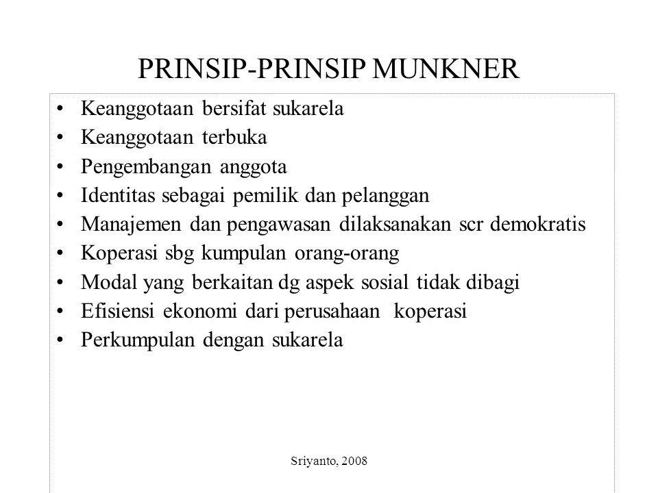 PRINSIP-PRINSIP MUNKNER