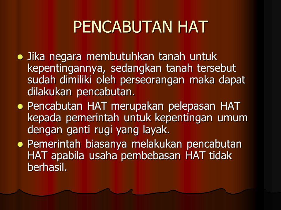 PENCABUTAN HAT