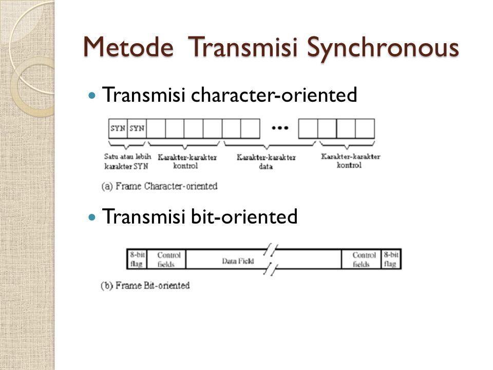 Metode Transmisi Synchronous