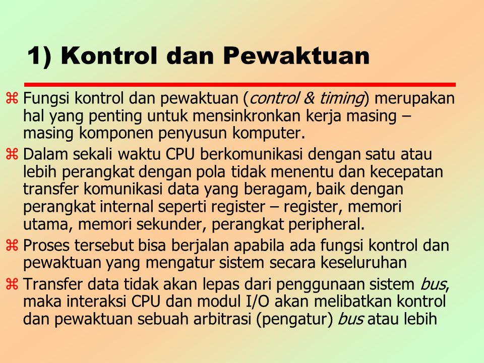 1) Kontrol dan Pewaktuan