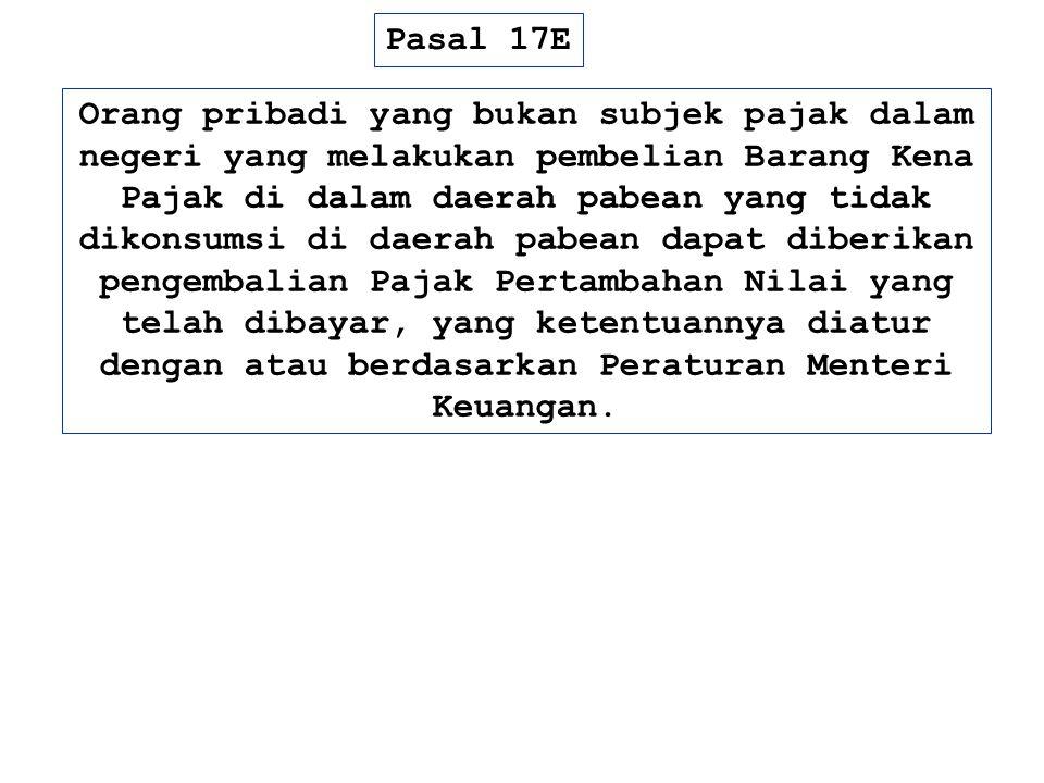 Pasal 17E
