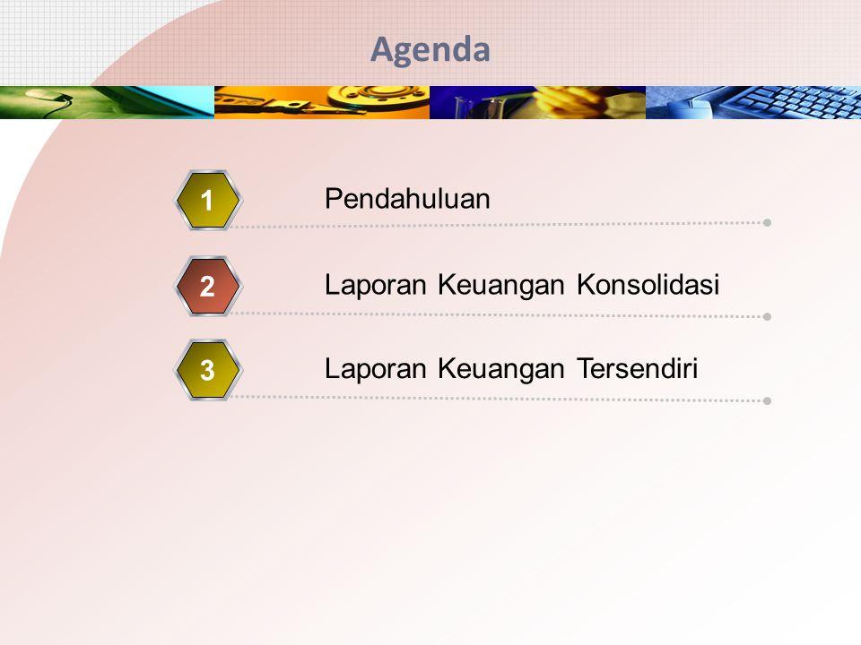Agenda 1 Pendahuluan 2 Laporan Keuangan Konsolidasi 3