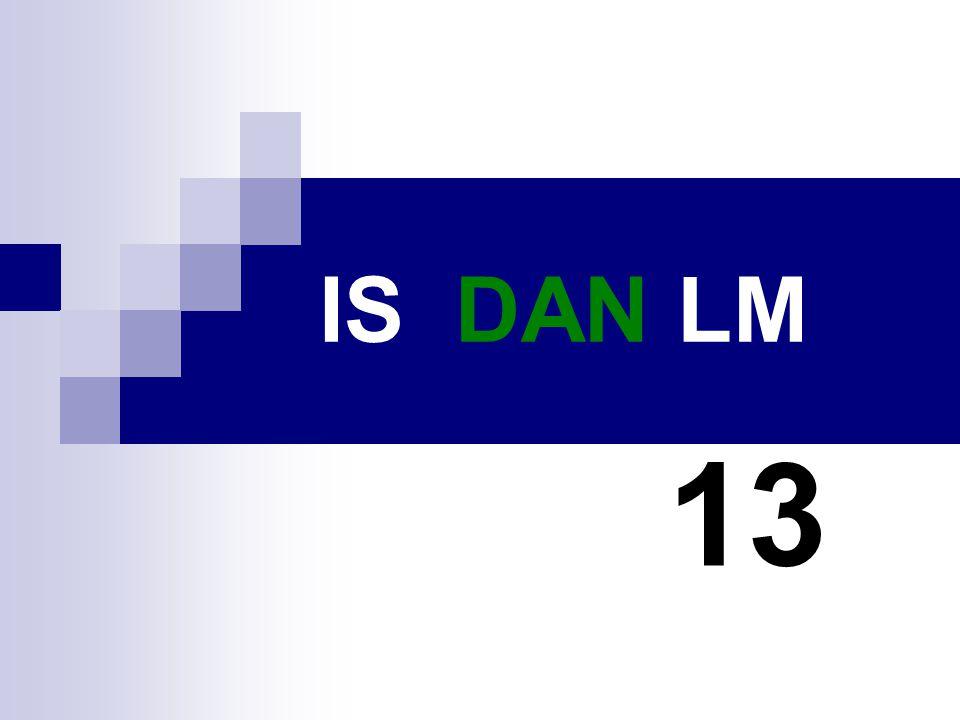 IS DAN LM 13
