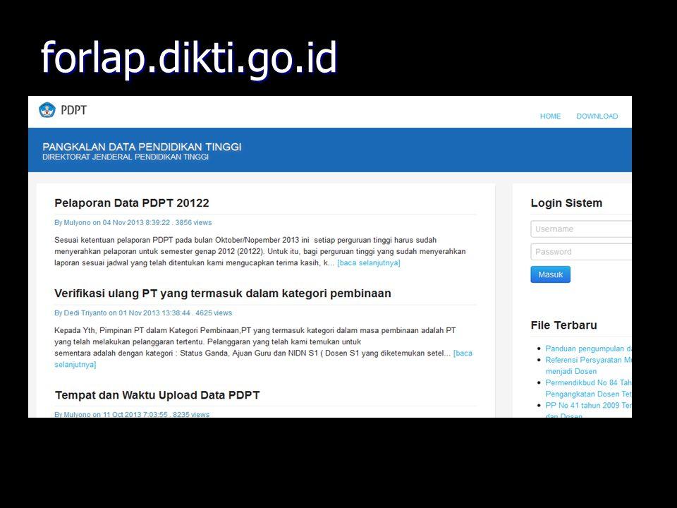 forlap.dikti.go.id