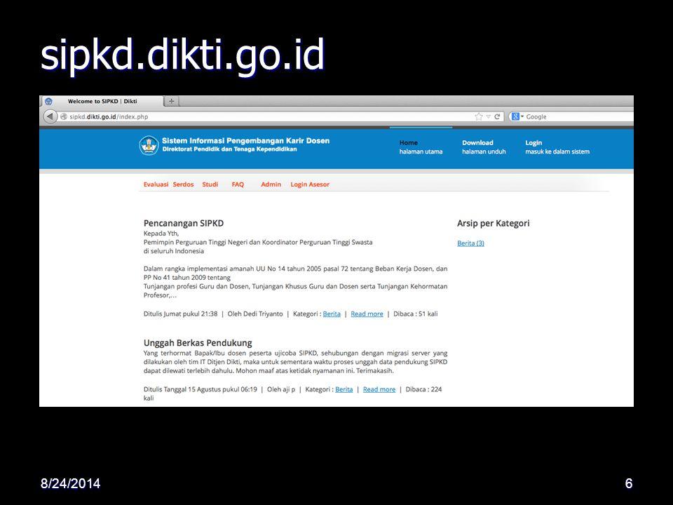 sipkd.dikti.go.id 4/6/2017