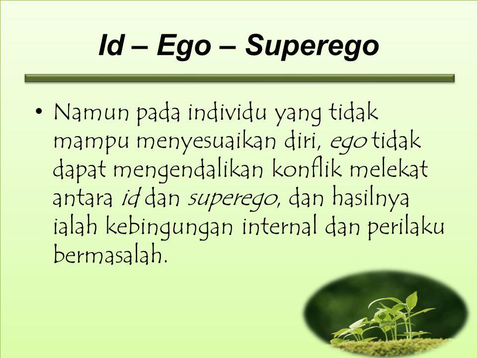 Id – Ego – Superego