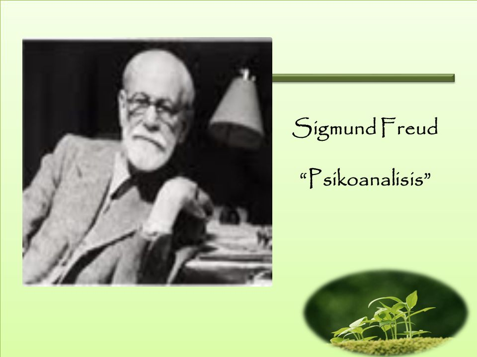 Sigmund Freud Psikoanalisis
