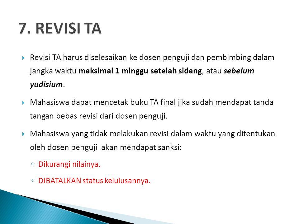7. REVISI TA