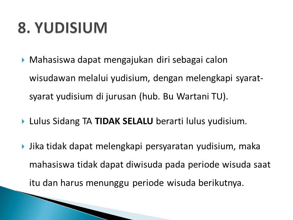 8. YUDISIUM