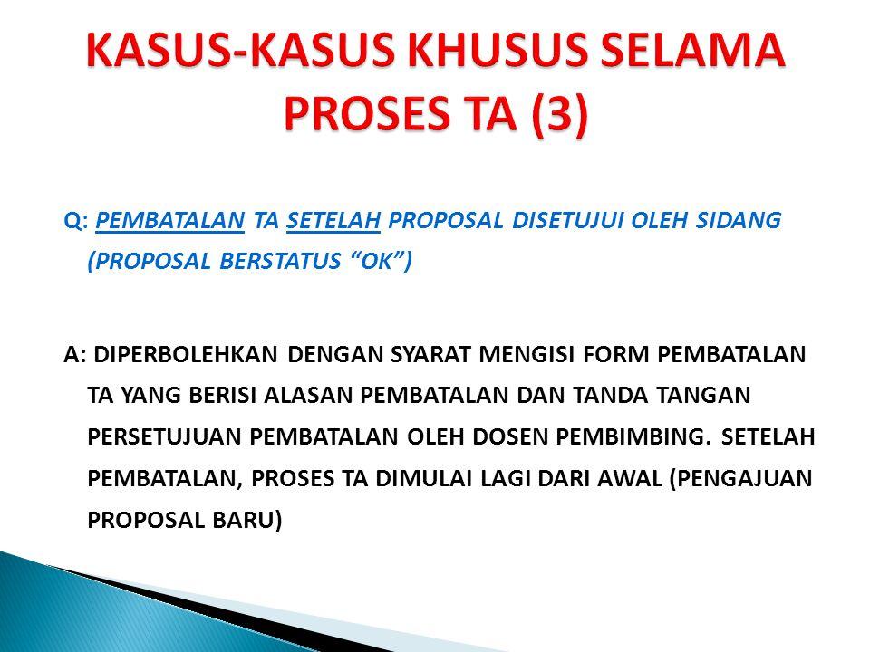 KASUS-KASUS KHUSUS SELAMA PROSES TA (3)