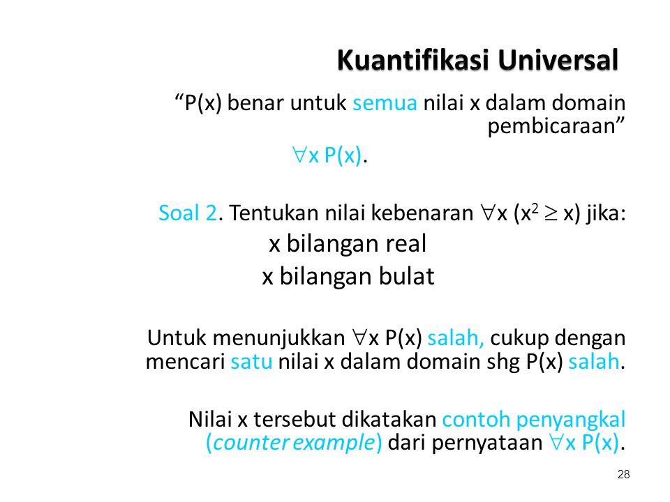 Kuantifikasi Universal