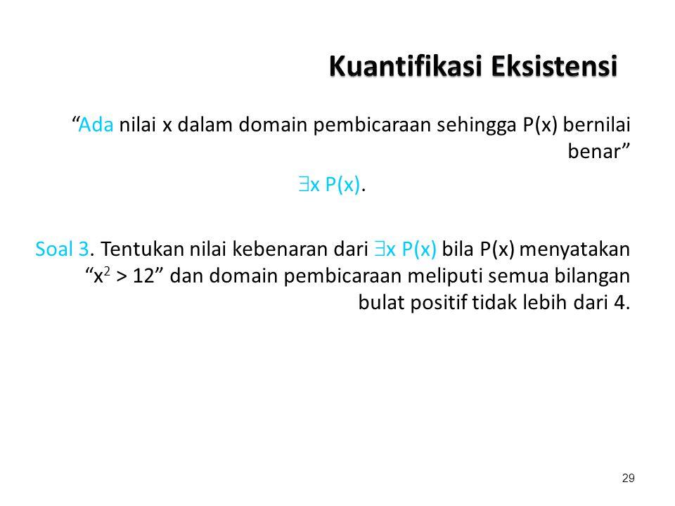 Kuantifikasi Eksistensi