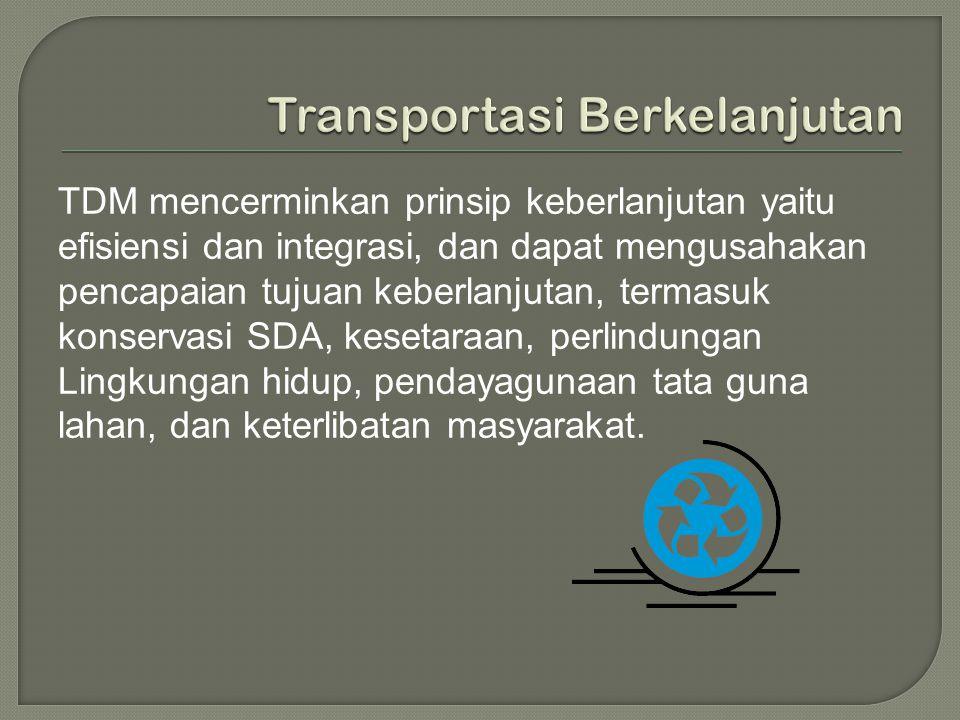 Transportasi Berkelanjutan