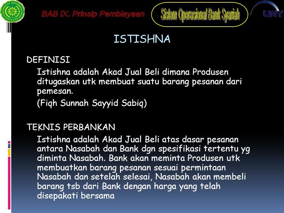 ISTISHNA