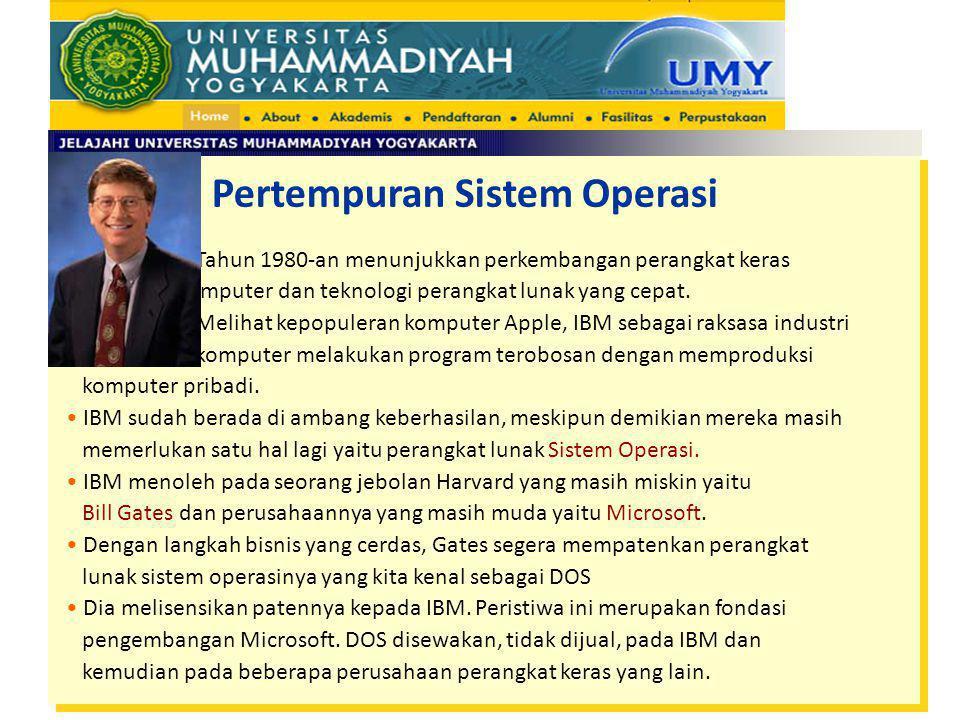 Pertempuran Sistem Operasi