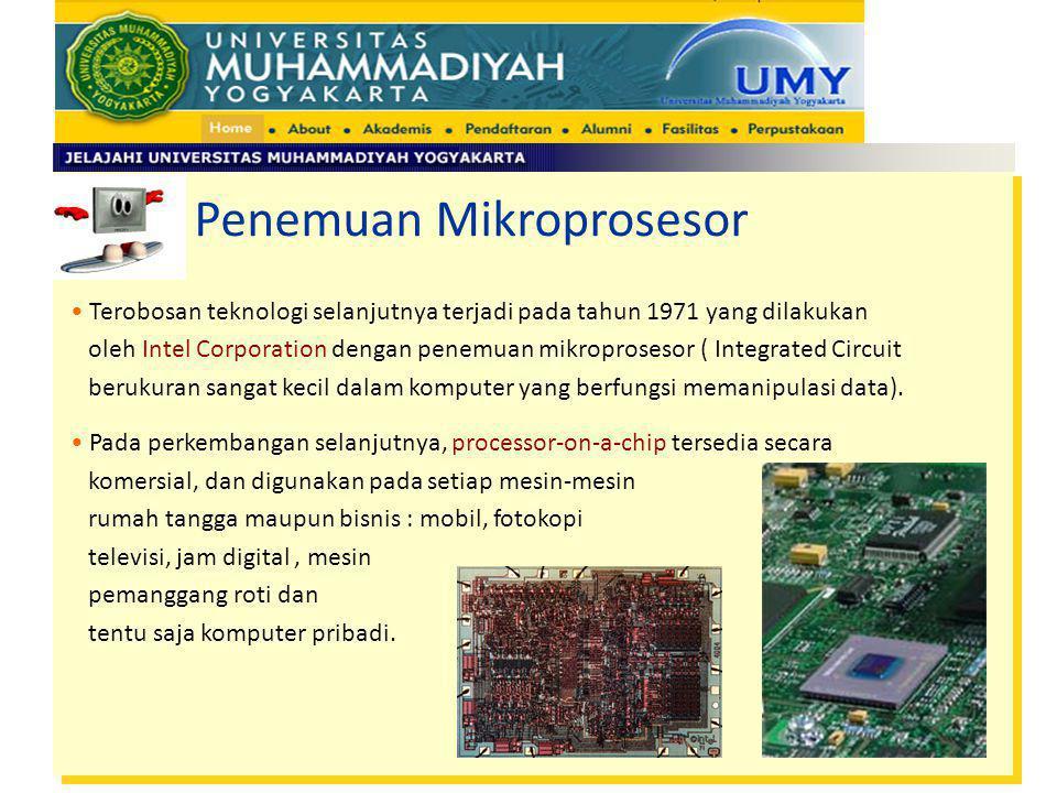 Penemuan Mikroprosesor