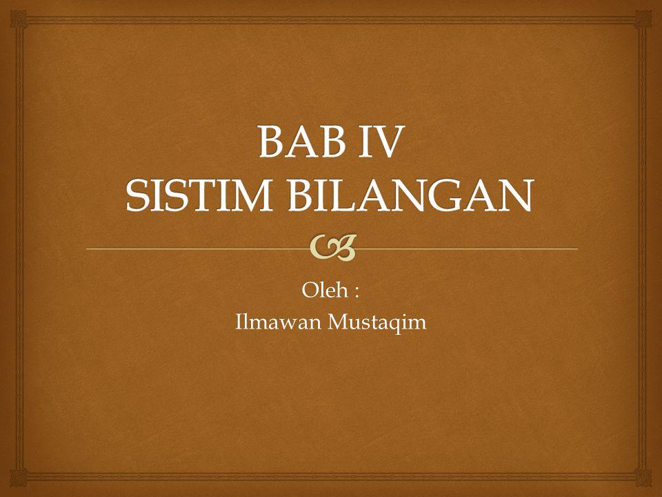Oleh : Ilmawan Mustaqim