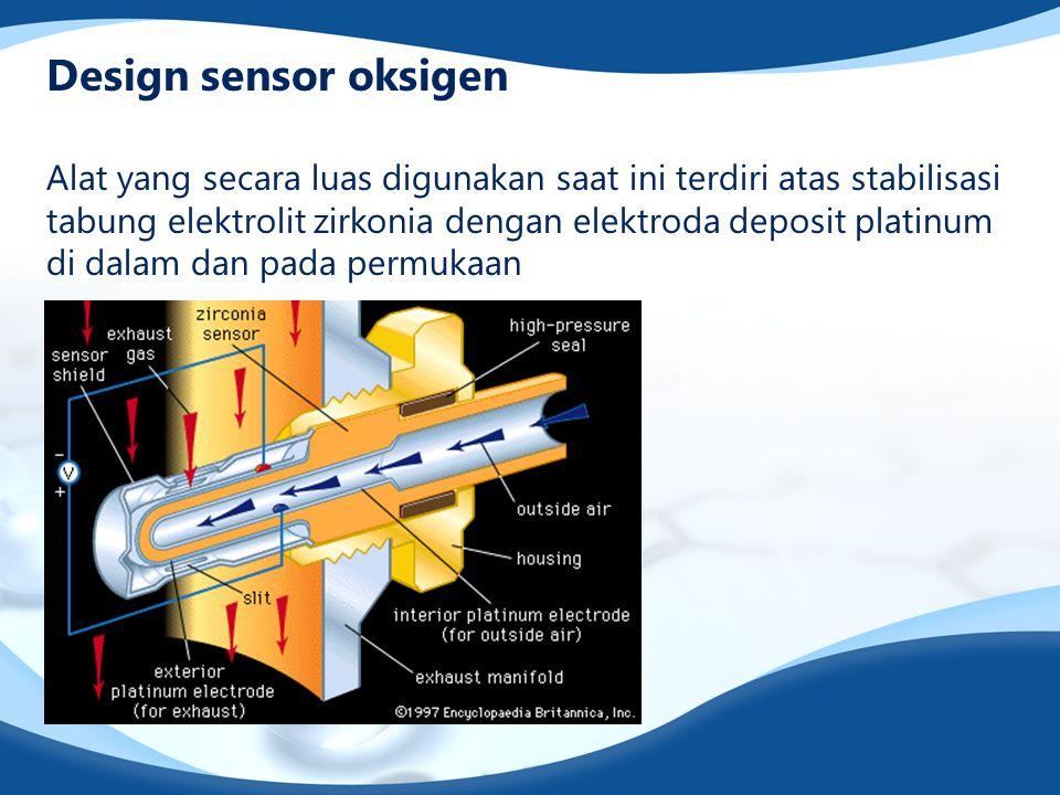 Design sensor oksigen