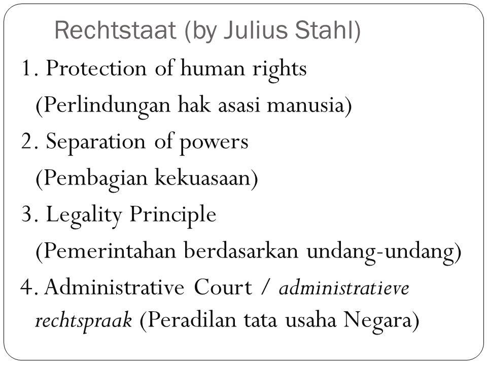 Rechtstaat (by Julius Stahl)