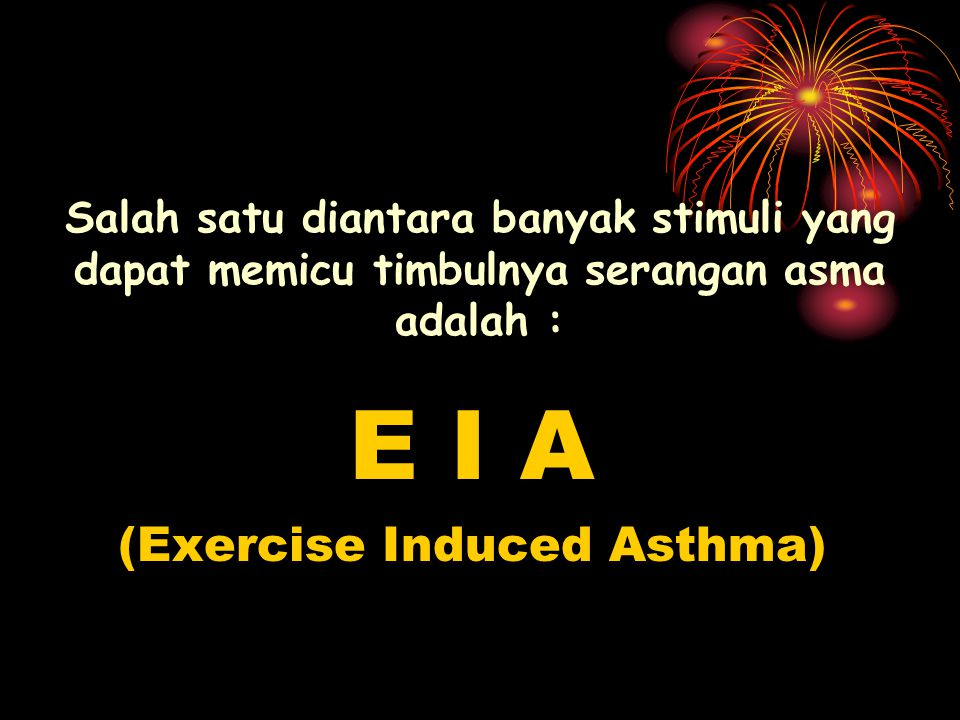 (Exercise Induced Asthma)