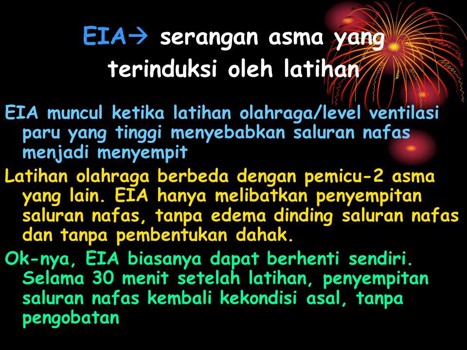 EIA serangan asma yang terinduksi oleh latihan