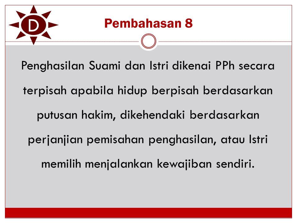 D Pembahasan 8.