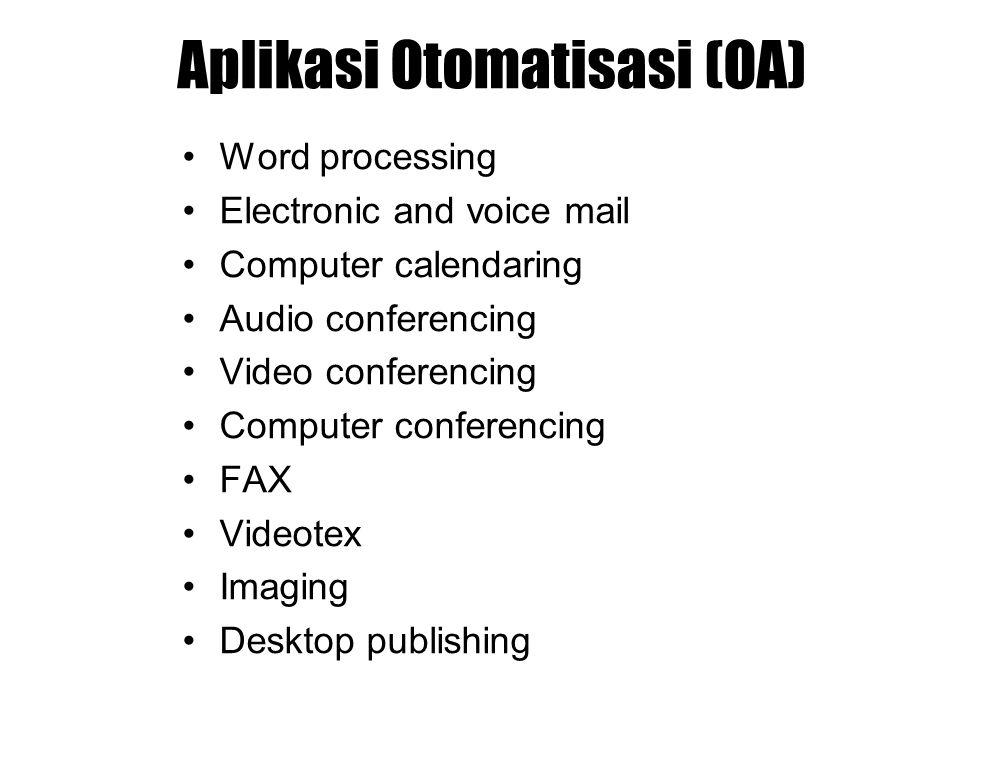 Aplikasi Otomatisasi (OA)