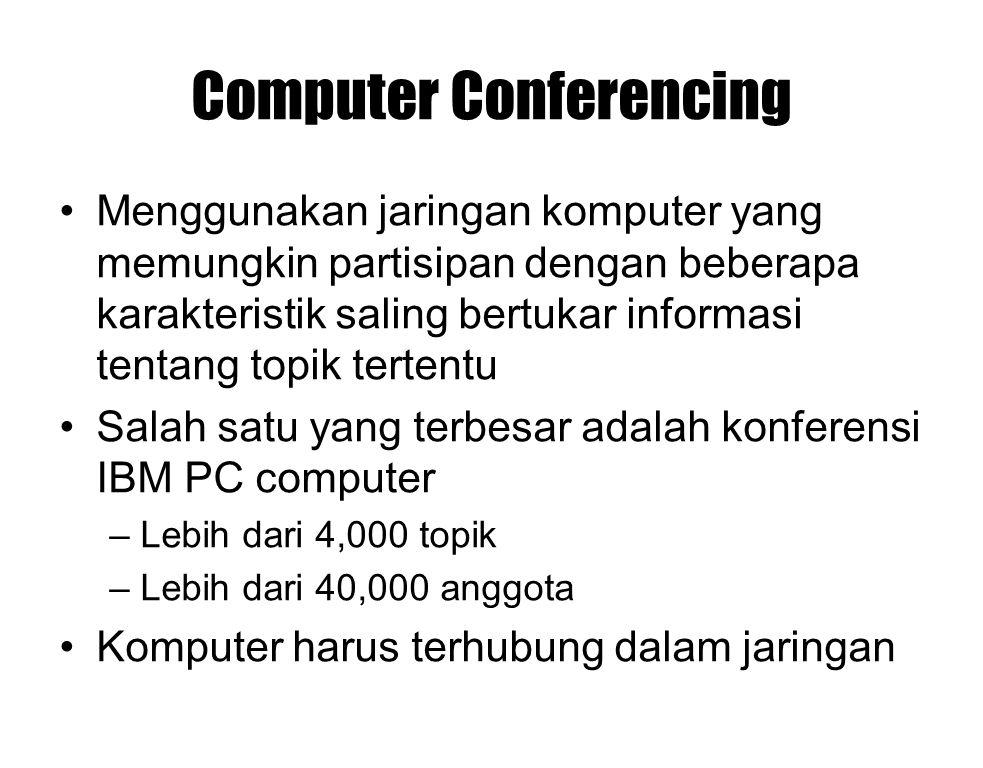 Computer Conferencing
