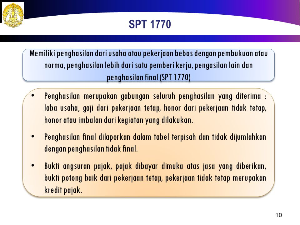 SPT 1770