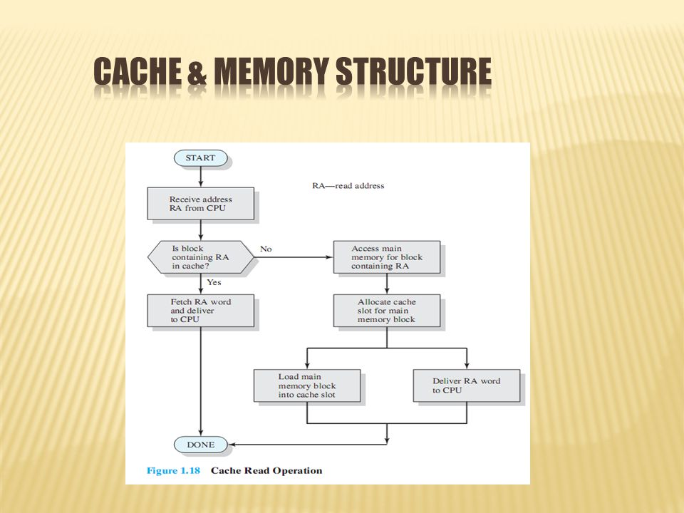 Cache & Memory Structure
