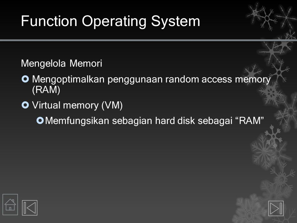 Function Operating System